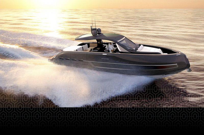 Novo Invictus TT460 movido por motores Volvo Penta: Conforto e alto desempenho